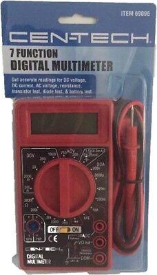 7 Function Digital Multimeter Automotive Car Electrical Ac Dc Volts Home