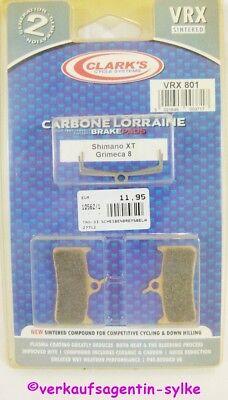 Clark ´S Pastillas de Frenos, Freno VRX801 para Shimano XT + Grimeca...
