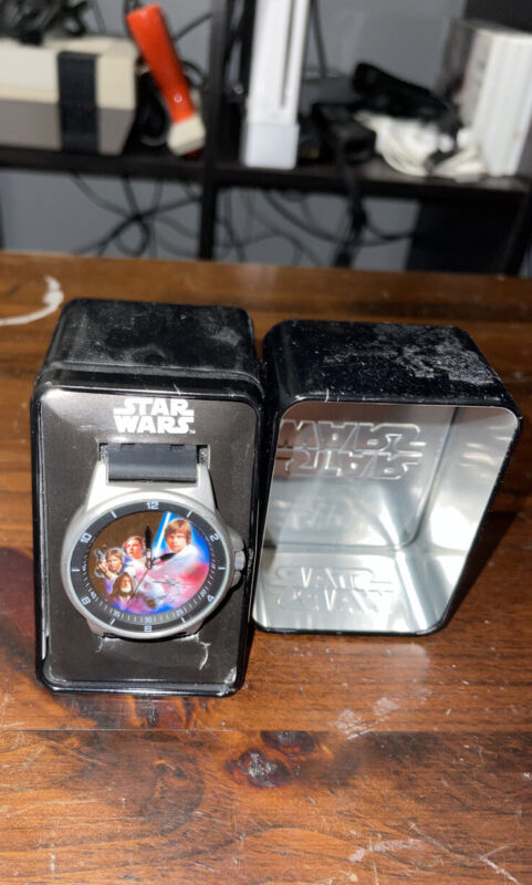 Accutime Star Wars: A New Hope Stainless Steel Wrist Watch! STW1362 New!!