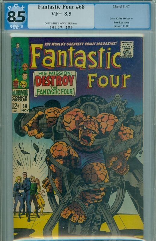 Fantastic Four #68  PGX 8.5