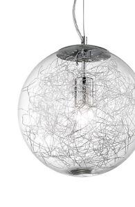 lampadario a sfera : Dettagli su LAMPADARIO A 1 LUCE D.30 MODERNO SFERA IN VETRO COLLEZIONE ...
