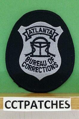 ATLANTA, GEORGIA BUREAU OF CORRECTIONS (POLICE) SHOULDER PATCH GA