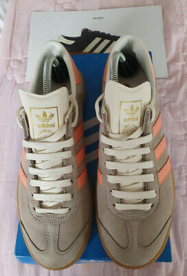 Adidas Originals Hamburg Trainers - Size UK 8 - Rare C/W