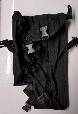PRC 148 MBITR / PRC 152 harris Radio Pouch  in Black weather proof  nylon fabric