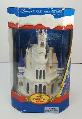 Disney Pixar Family Castle Christmas Tree Topper ToysRUs Exclusive Please Read