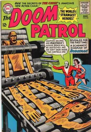 DOOM PATROL 94    GREAT COVER!   LOW PRICE with NR!