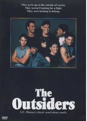 The Outsiders DVD New and Sealed Manufactured Aussie Release