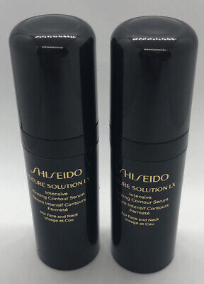 Shiseido Future Solution Lx Intensive Firming Contour Serum, Lot Of 2, .3 oz