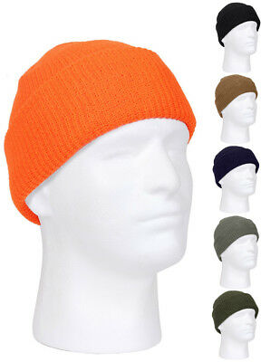 Watch Cap Hat Winter Knit  Rothco Acrylic Military Cold Weather 5464 Cap