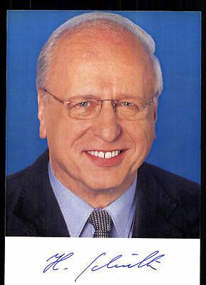 Hubert Schulte Autogrammkarte Original Signiert ## 37044