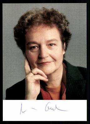 Herta Däubler Gmelin Autogrammkarte Original Signiert ## 36741