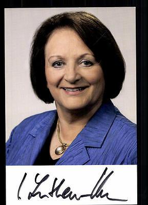Sabine Leutheusser Schnarrenberger Autogrammkarte Original Signiert ## 38756