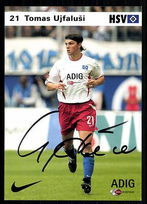 Tomas Ujfalusi Autogrammkarte Hamburger SV 2004-05 Original Signiert+A 95950