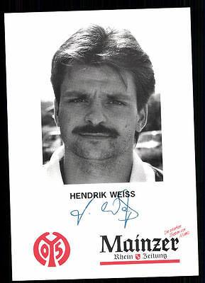 Hendrik Weiss Autogrammkarte FSV Mainz 05 TOP  +A 95156 D