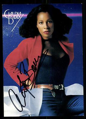 Claudia Barry Autogrammkarte Original Signiert ## BC 37690