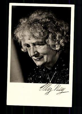 Elly Ney Autogrammkarte Original Signiert ## BC 38856