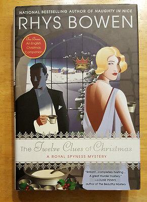 RHYS BOWEN The Twelve Clues of Christmas A Royal Spyness Mystery Book ()