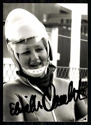 Elisabeth Demleitner Autogrammkarte Original Signiert Rodeln +A 88163