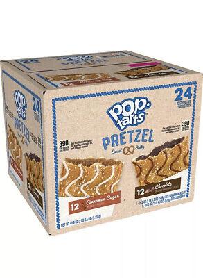 Kellogg's Pop-Tarts Pretzel Chocolate Cinnamon Variety Pack 24 🔥FREE SHIPPING Chocolate Pop Tarts