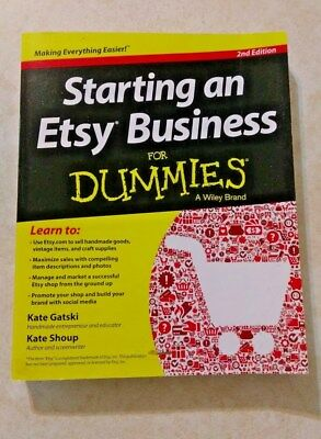 Starting An Etsy Business For Dummies 2Nd Edition 2013   Free Shipping