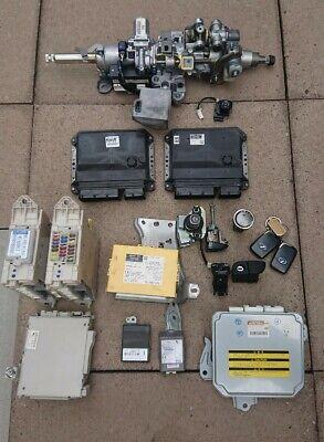 LEXUS GS 450H 3.5 HYBRID 2008 FULL ENGINE ECU/MODULE & IGNITION KEYLESS LOCK SET