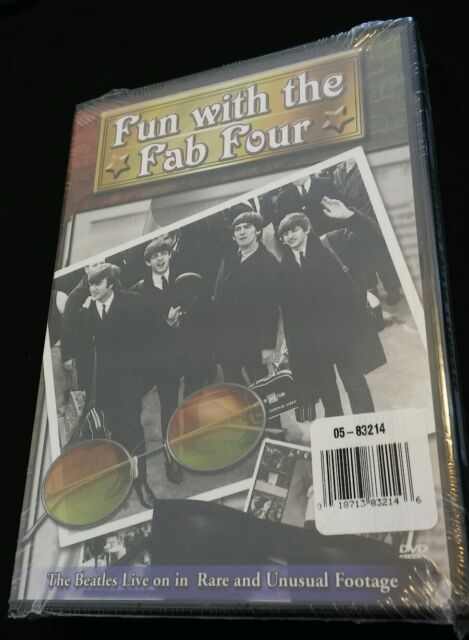 Beatles - Unauthorized / Fun With The Fab Four (DVD, 2002) NEW SEALED
