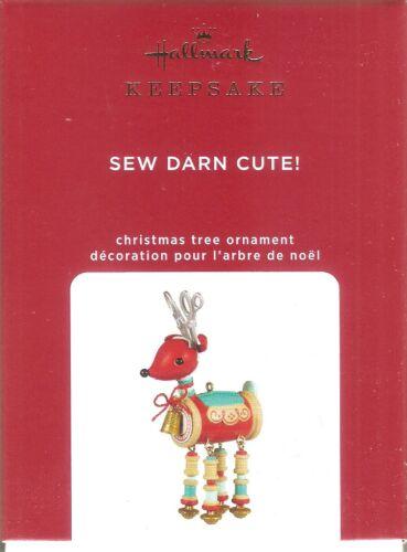 2020 Hallmark  Sew Darn Cute  Reindeer