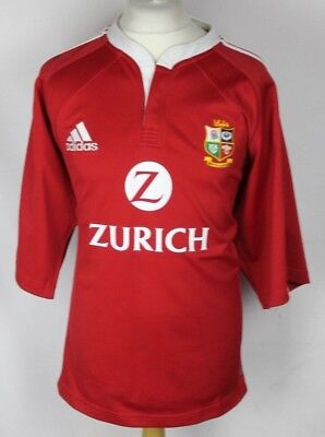 VINTAGE ADIDAS BRITISH LIONS RUGBY SHIRT MENS LARGE NEW ZEALAND 2005