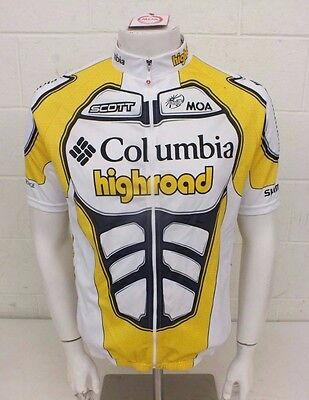 a51efb32cdb MOA Columbia Highroad  09 UCI Pro Tour Full-Zip Cycling Jersey Size 6 XXL  NEW