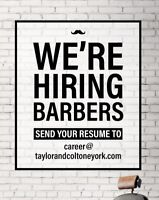 Professional Men's Stylist's/ Barber Wanted