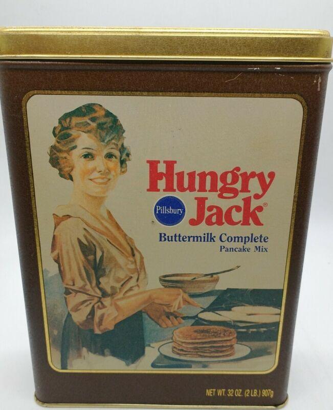 Vintage Pillsbury Hungry Jack Advertising Tin