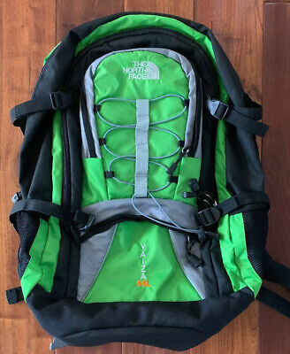 ❤️NORTH FACE Yaiza 55L BACKPACK RUCKSAC Green/Grey/Black Daypack HIKING WALKING