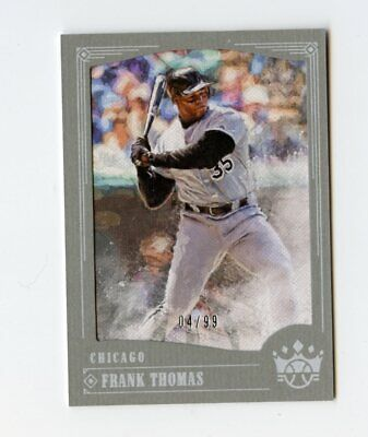 B177 FRANK THOMAS 2018 DIAMOND KINGS FRAMED 4/99 #49 WHITE SOX FREE SHIPPING -