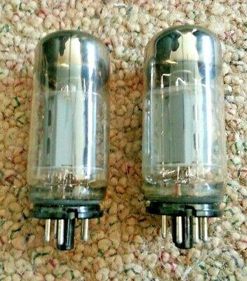 Two Sovtek 6L6 WGC Tubes, Untested