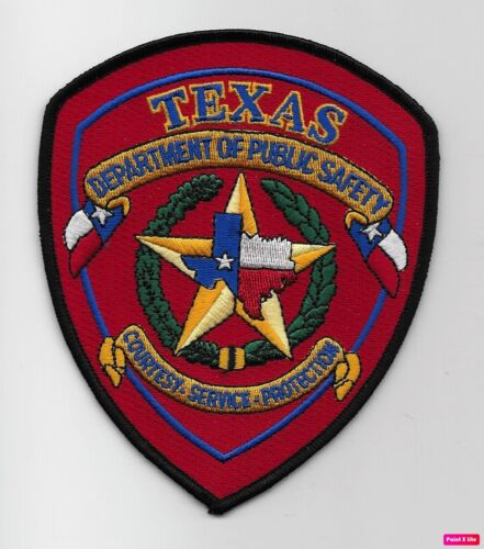Texas State Police DPS Police Sheriff State TX Patch