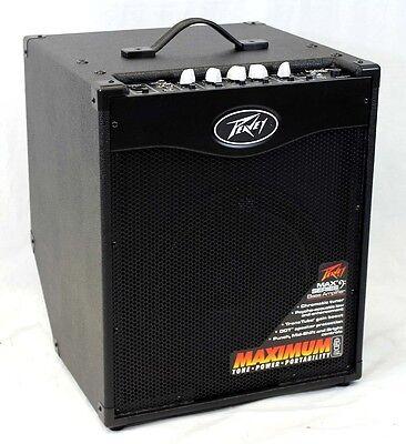 Peavey MAX 112 II Electric Bass Guitar 200-Watt Combo Amplifier