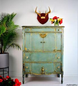 Gorgeous antique Tallboy dresser