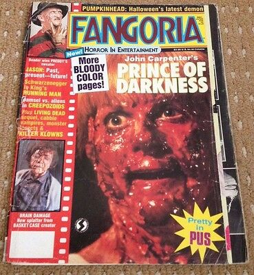 FANGORIA MAGAZINE #69 DEC 1987 HORROR GORE