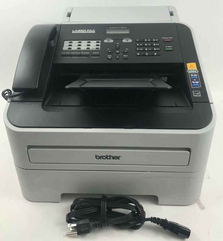 BROTHER 2840 Fax Machine Printer IntelliFax High-Speed Laser G3