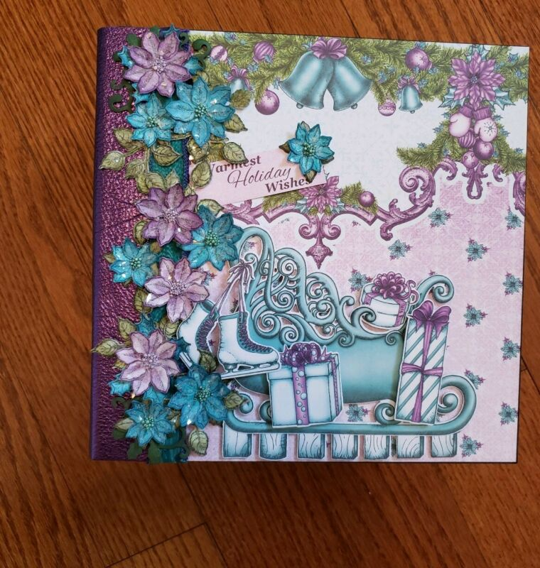Handmade Album Using Heartfelt Creations Celebrate The Season Paper Collection