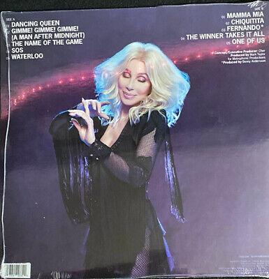 CHER - DANCING QUEEN - TRANSPARENT BLUE VINYL - BARNES & NOBLE EXCLUSIVE - ABBA