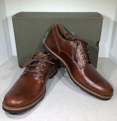 Timberland Kendrick Men's Sz 11M Brown Leather Waterproof Oxford Shoes X2-748