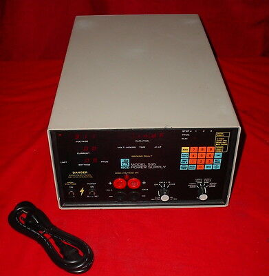 Isco 595 Electrophoresis Hv High Potential Test Power Supply 622280001-90155