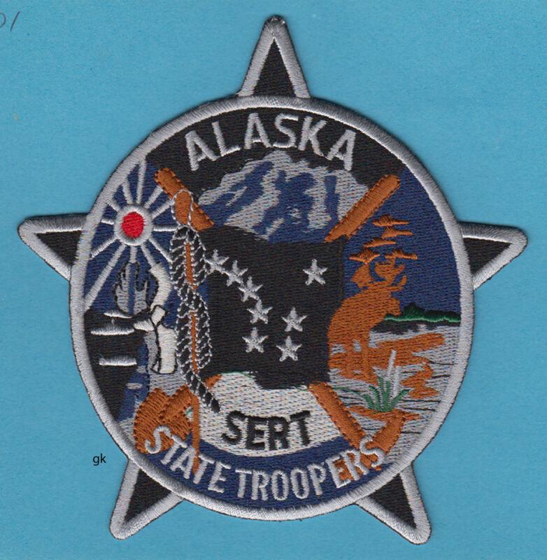 ALASKA STATE TROOPER SWAT SERT POLICE SHOULDER PATCH