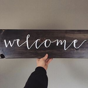 Wooden Signs - 100% Custom Canadian Home Decor