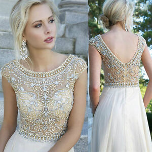 Beaded Formal Evening Gowns | eBay