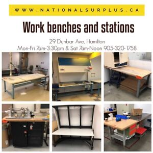 Work benches / work stations