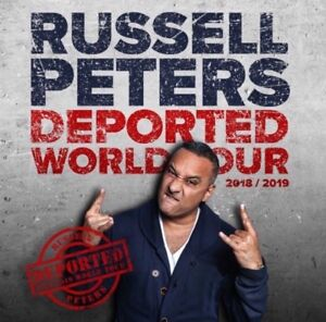 RUSSELL PETERS TICKETS - LONDON FROM $87!!!