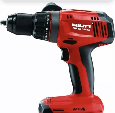 Hilti Sf 6h-a22 Cordless Hammer Drill Bare Tool No Battery No Charger No Handle
