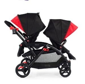 Contours double stroller basically brand new